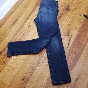 Kut from the Kloth dark blue straight leg jeans